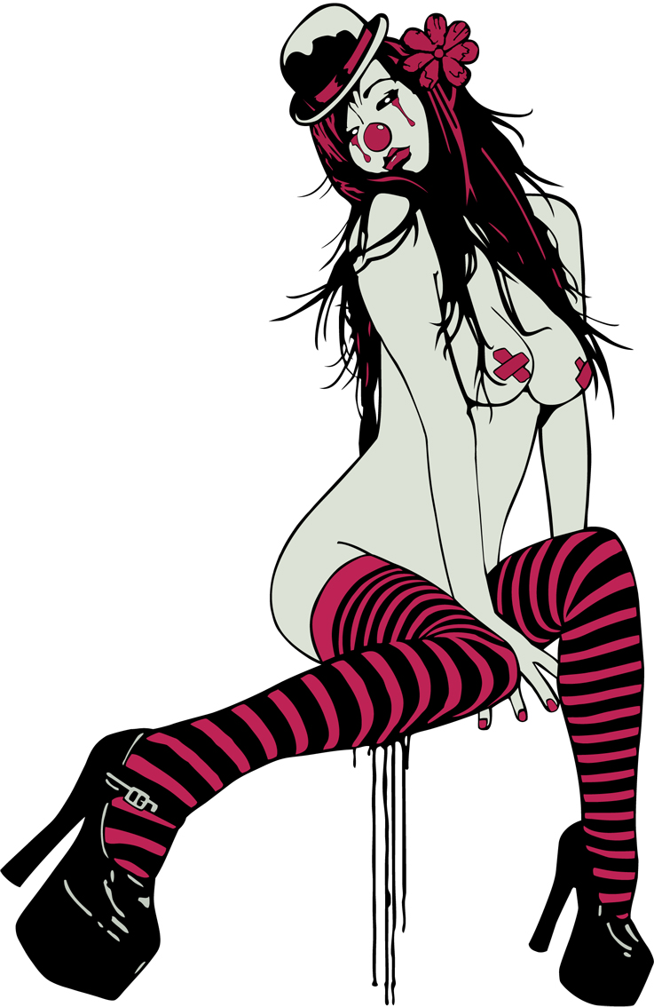 sexy_clown_girl_2_by_matiasramone-d4zdbzp